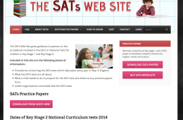 The SATS website